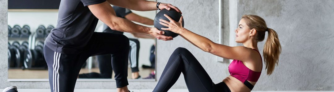 personal trainer man vrouw